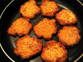 Miniature Potato Latkes