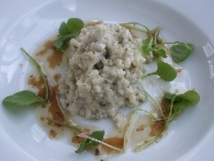 Artichoke Risotto with Tomato Butter