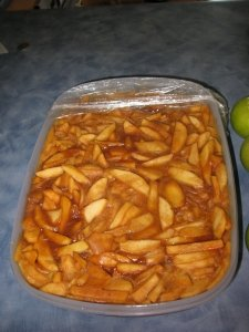 Apple Pie Filling   (To Freeze Or Can)