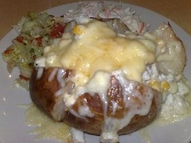 Baked Cheese Potatoes