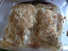 Baked Cream of Chicken Breast