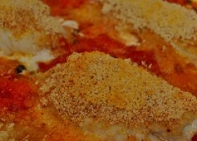 Baked Flounder with Sauce