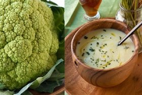 Broccoli, Asparagus Or Cauliflower Soup