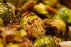 Brussels Sprouts With Caramelized Onion