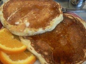 Buttermilk Toaster Pancakes