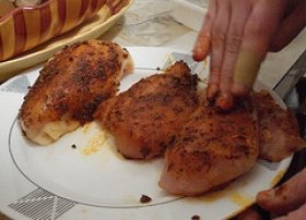 Cajun Spiced Chicken