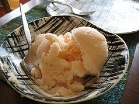 Cantaloupe Ice Cream