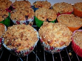 Caramel Cinnamon Muffins