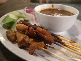 Chicken Satay -  With S