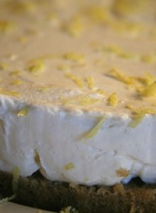 Creamy Chilled Cheesecake