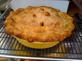 Deep Dish Peach Pie