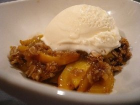 Easiest Peach Cobbler