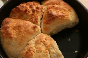 Iron Skillet Biscuits