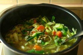 Linsensuppe (Lentil Soup)