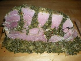 Maryland Holiday Stuffed Ham