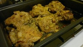 Mustard Roasted Chicken