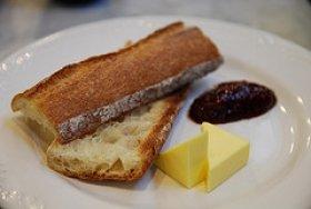 Orange French Toast With Honey
