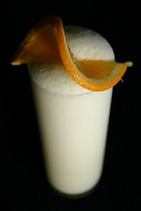 Orange Juice Fizz