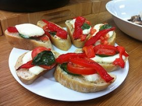 Peppers Bruschetta