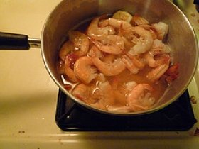 Shrimp Boiled in Beer