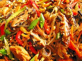 Squash Red Pepper Stir Fry