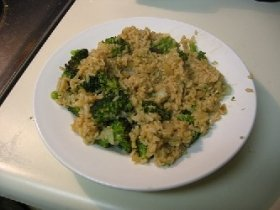 Stir-Fried Broccoli Rice