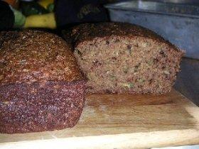 Zucchini-Pecan Bread