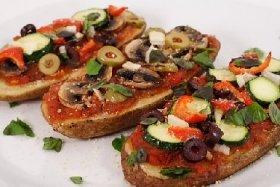 Zucchini Pizza Strips