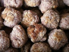 Barbecue Appetizer Meatballs