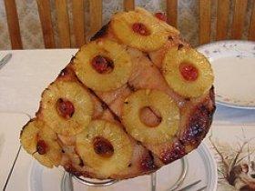 Baked Whiskey-Glazed Ham