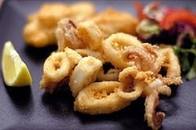 Pan-Fried Calamari