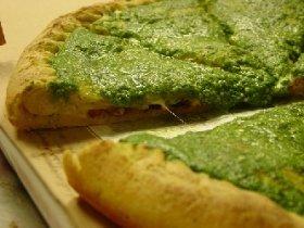 Fresh Tomato Pesto Pizza Recipe