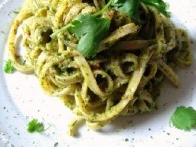 Avocado Linguine